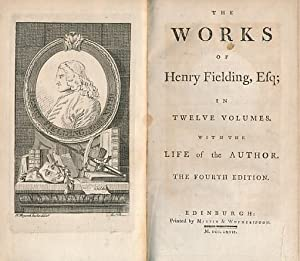 The Works of Henry Fielding Esq. 11 volumes of 12: Fielding, Henry