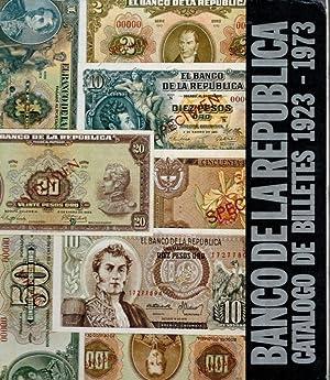 Banco de La Republica Catalogo de Billetes 1923-1973: Villalba, Dr Antonio María Barriga