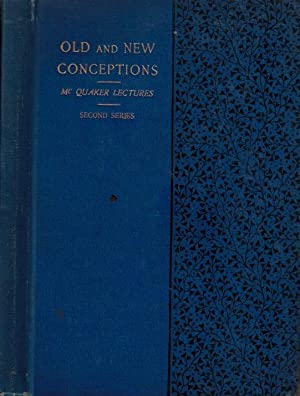 Old and New Conceptions: Wicksteed, P H; Carpenter, J E; Hopps, John Page