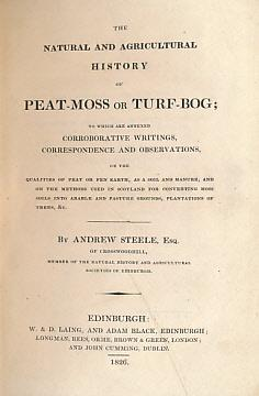 The Natural and Agricultural History of Peat-Moss or Turf-Bog; To Which are Annexed Corroborative ...