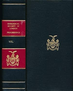 Proceedings of the Zoological Sociey of London. Volume 162. September-December 1970: The Zoological...