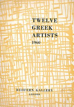 Twelve Greek Artists. 1960: Xydis, A G [intro.]