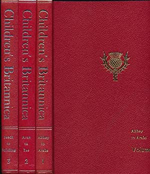 Children's Britannica. 2nd edition. 20 volume set. [Encyclopaedia; Encyclopedia]: Britannica