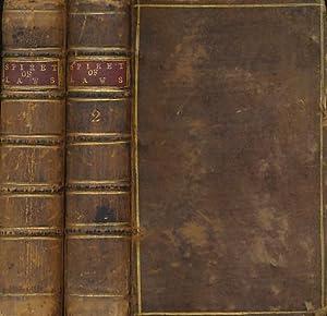 The Spirit of Laws. 2 volume set: Montesquieu, Charles de Secondat, Baron de; Nugent, Mr [tr.]