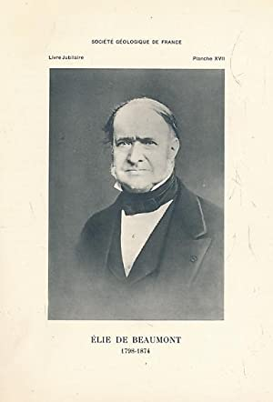 Centenaire de la Société Géologique de France.: de Margerie, Emmanuel