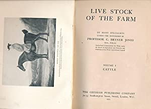 Live Stock of the Farm. 5 volume set: Jones, C Bryner [ed.]