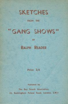 Sketches from the 'Gang Shows': Reader, Ralph; hurll,