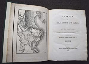Travels in Sicily Greece and Albania. 2 volume set: Hughes, Thomas Smart