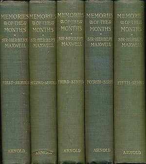 Memories of the Months. 5 volume set: Maxwell, Herbert