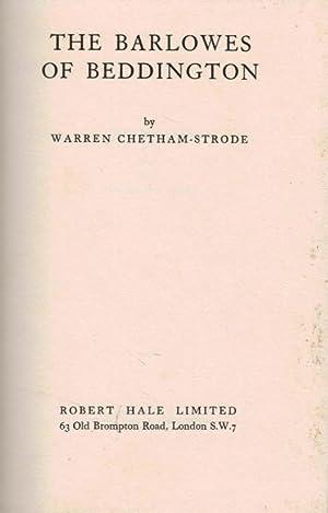 The Barlowes Of Beddington: Chetham-Strode, Warren