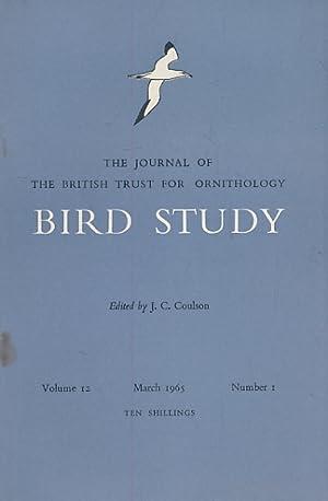 Bird Study (volume 12): Snow, David W [ed.]