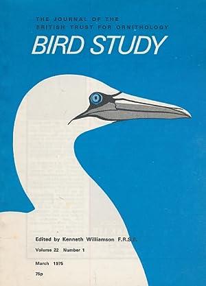 Bird Study (volume 22): Kenneth Williamson (editor)