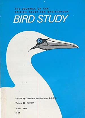 Bird Study (volume 23): Kenneth Williamson (editor)