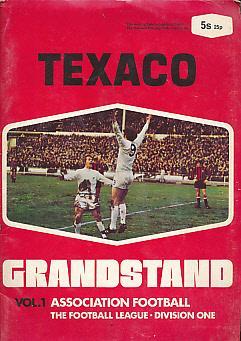 Texaco Grandstand. Vol 1. Association Football. The Football League. Division One: Samuel, John [ed...