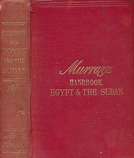 Egypt. Handbook for Egypt and the Sudan: Murray; Hall, M R [ed.]