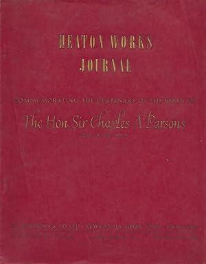 Heaton Works Journal. Summe 1954. Volume 7 No. 38: Murton, H A [ed.]