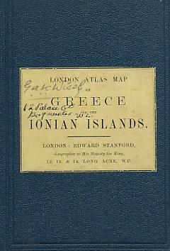 London Atlas Map.London Atlas Map Of Greece And The Ionian