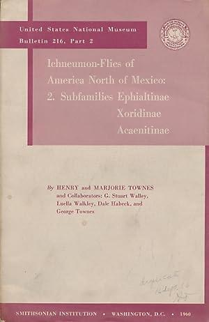 Ichneumon Flies of America North of Mexico: Volume 2. Ephialtinae, Xoridinae, Acaenitinae: Townes, ...