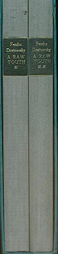 A Raw Youth. 2 volume set. Signed Limited edition: Dostoevsky, Feodor; Garnett, Constance; ...