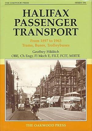 Halifax Passenger Transport: Hilditch, Geoffrey