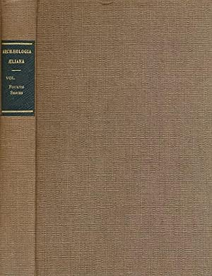 Archaeologia Aeliana or Miscellaneous Tracts Relating to Antiquity. 4th. Series. Volume XLV [45]. ...