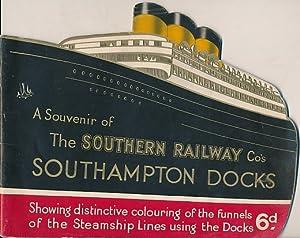 A Souvenir of the Southern Railways Co's Southampton Docks: The Southern Railway Co
