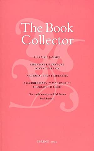 The Book Collector. Volume 54. 2005. Complete 4 volume set: Barker, Nicolas [ed.]