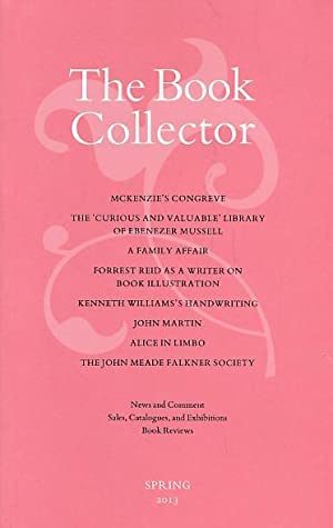 The Book Collector. Volume 62. 2013. Complete 4 volume set: Barker, Nicolas; Fergusson, James [eds....