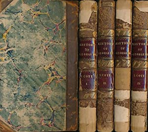 The History of England during the Reign of George III. 4 volume set: Scott, Robert