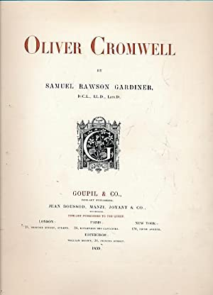 Oliver Cromwell. Limited edition: Gardiner, Samuel Rawson