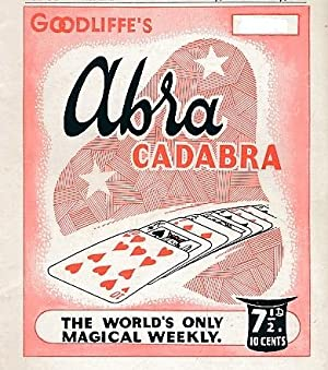 "Abracadabra"" : The World's Only Magical Weekly. Volume 13, 22 issues. January - July 1952..."