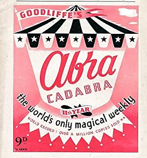 "Abracadabra"" : The World's Only Magical Weekly. Volume 22, 12 issues. July 1956 - January..."