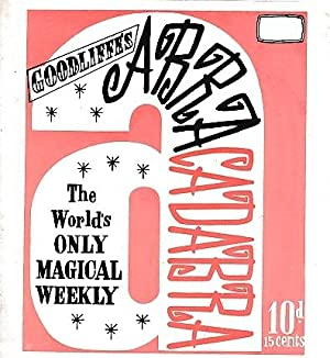 "Abracadabra"" : The World's Only Magical Weekly. Volume 25 Complete, 26 issues. January - ..."