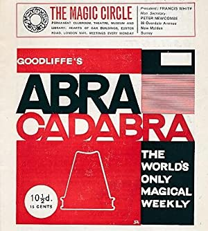 "Abracadabra"" : The World's Only Magical Weekly. Volume 37 Complete, 26 issues. January - ..."