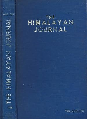 The Himalayan Journal. Volume XIII. 1946: Noyce, C W F [ed.]