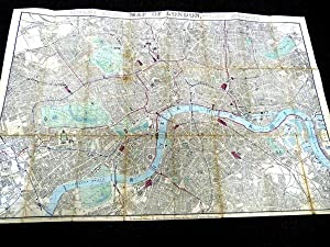Reynold's Distance Map of London and Visitors Guide With The Recent Improvements: Reynolds, ...