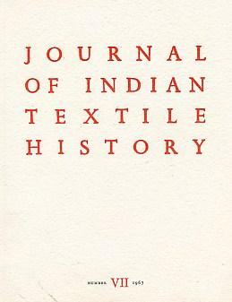 Journal of Indian Textile History. No. VII.: Irwin, John [ed.]