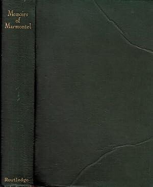 Memoirs of Marmontel: Marmontel, Jean François