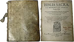 Testamenti Veteris et Novi Biblia Sacra, ex Hebraeo et Graeco Latina Facta: Stephan, Robert (...