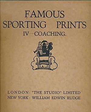 Famous Sporting Prints IV. Coaching: Kendall, George