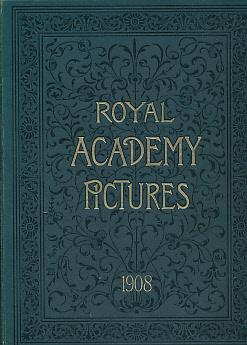 Royal Academy Pictures and Sculpture 1908. Illustrating: MacWhirter, John; Brangwyn,
