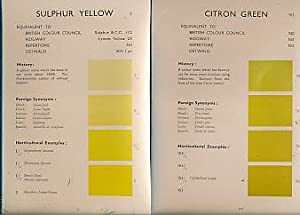 Horticultural Colour Chart. Part 1 only: Royal Horticultural Society