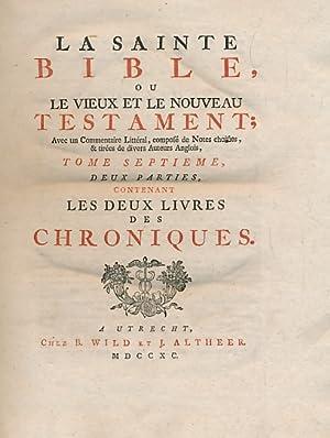 La Sainte Bible, ou le Vieux et: Wild
