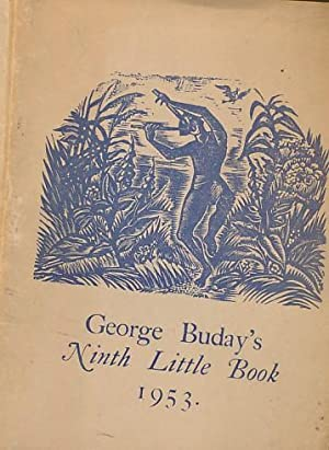 George Buday's Ninth Little Book. Graven Adages: Buday, George