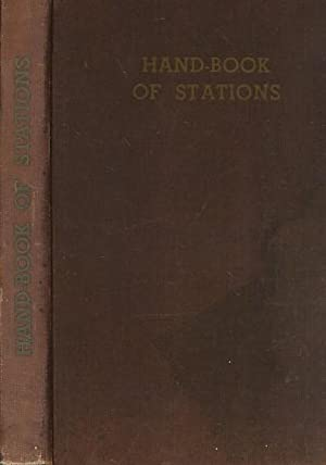 Official Hand-Book of Stations. Including Junctions, Sidings,: British Transport Commission