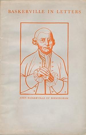 Baskerville in Letters: Bockwitz, Hans H; Woodbine, Herbert [tr.]