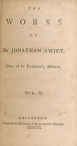 Letters to and from Dr Swift. The: Swift, Jonathan