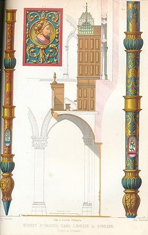 L'Architecture du Vme au XVIIme Siecle et: Gailhabaud, Jules