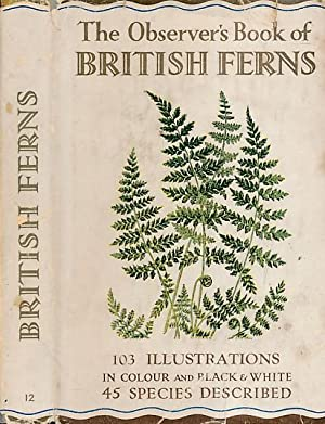 The Observer's Book of British Ferns: Stokoe, W J