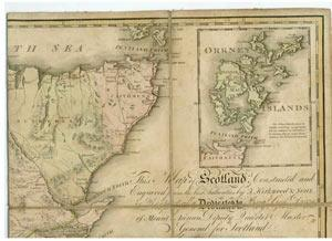 Map of Scotland - constructed and engraved from the best authorities by J Kirkwood and Sons is ...